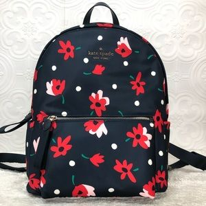 🌸OFFERS?🌸Kate Spade Floral Backpack Large